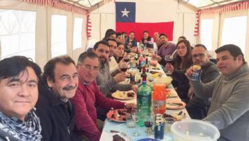 Central Bodegas celebra Fiestas Patrias junto a sus trabajadores